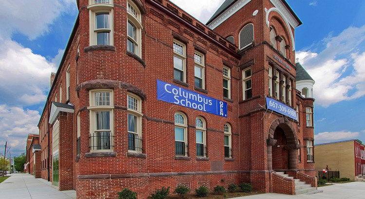 Columbus School Apartments, Baltimore, MD